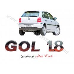 KIT EMBLEMAS GOL 2000 1.8