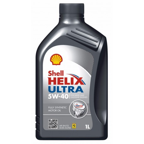 CUARTO ACEITE 5W40 SHELL HELIX